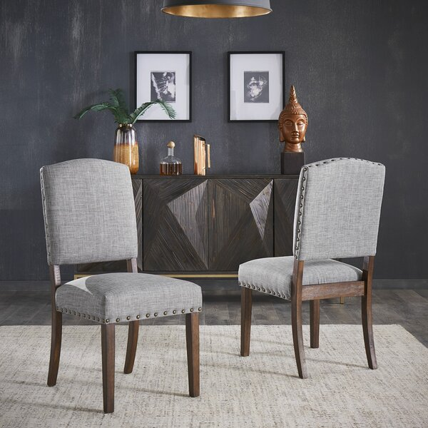 Ashburt Upholstered Dining Chair (Set Of 2) By Gracie Oaks