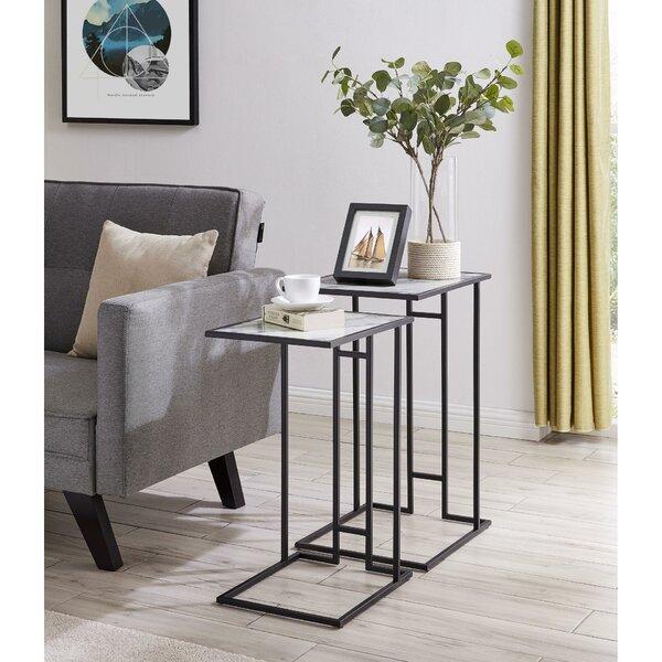 Anna-Mae C Nesting Tables By Latitude Run