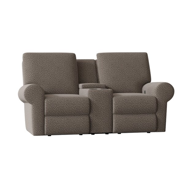 Eddison Console Reclining Loveseat By Wayfair Custom Upholstery™