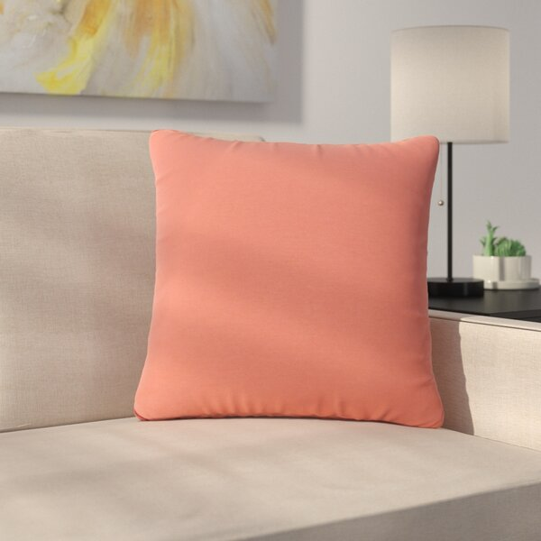 Ettinger Water Resistant Square Outdoor Throw Pillow by Greyleigh