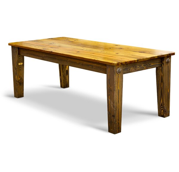 Prairie Bolt Dining Table by Vintage Flooring and Furniture Vintage Flooring and Furniture