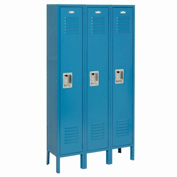 2 Tier 1 Wide 2 School Locker by Nexel