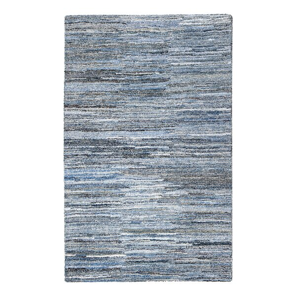 Reda Hand-Tufted Blue Area Rug by Bungalow Rose