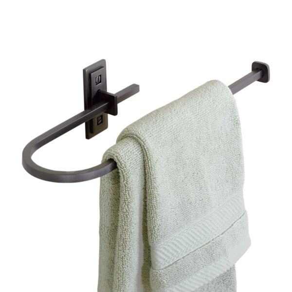 Metra Curved Towel Ring by Hubbardton Forge