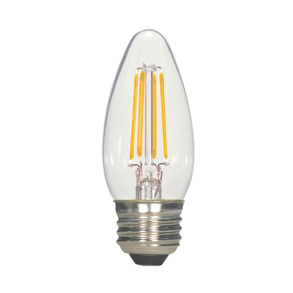 4.5W E26 Medium LED Vintage Filament Light Bulb by Satco