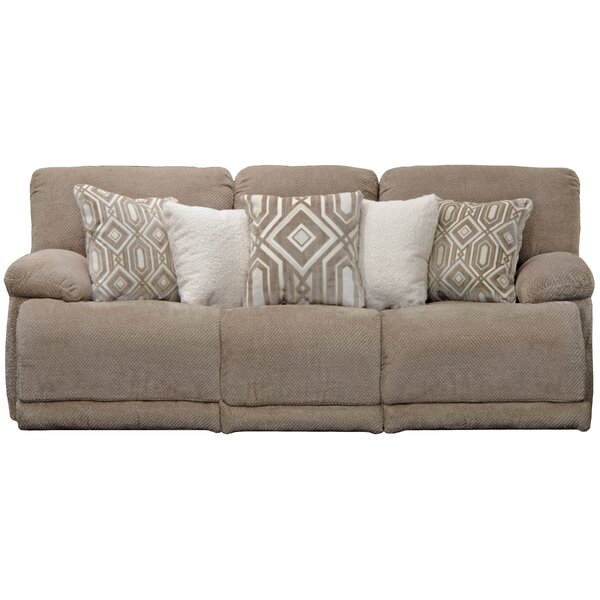 Montego Reclining 89'' Pillow Top Arms Sofa By Catnapper