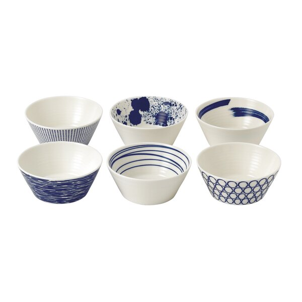 Pacific 6.8 oz. Tapas Bowls (Set of 6) by Royal Do