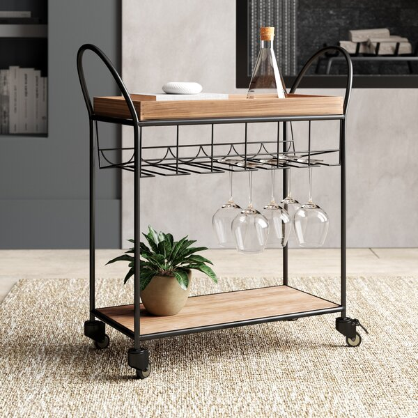 Crofton Bar Cart by Greyleigh