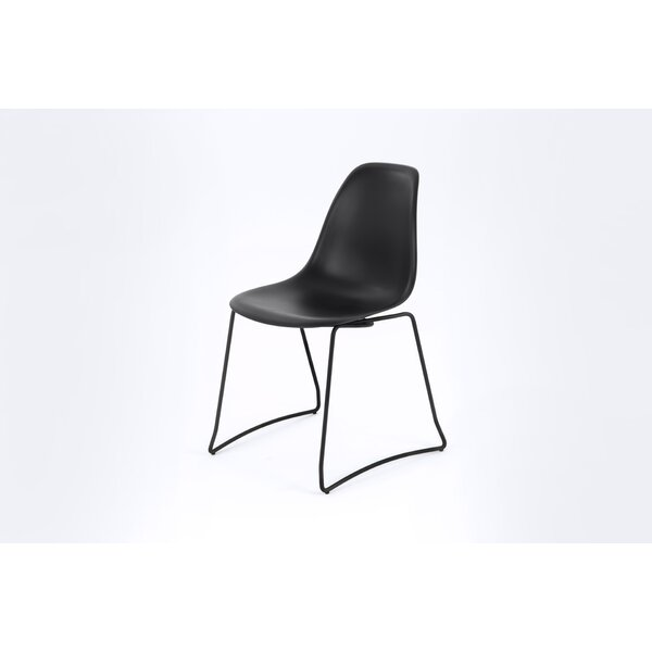 Schoenfeld Stack Dining Chair by Wrought Studio