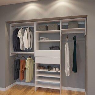 Coker 96 W Organizer Closet System By Rebrilliant