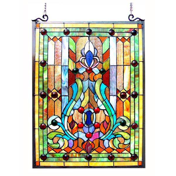 Beley Victorian Window Panel by Astoria Grand
