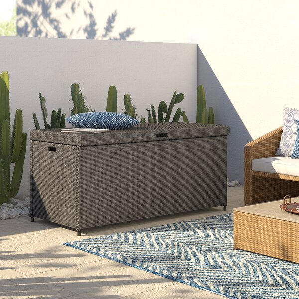 Crawfordsville Outdoor Resin Deck Box By Mistana