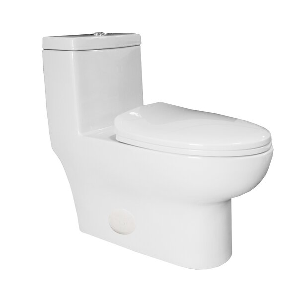 Contour High Efficiency Dual Flush Elongated One-Piece Toilet by Innoci-USA