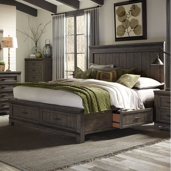 Sallie Storage Platform Bed by Greyleigh