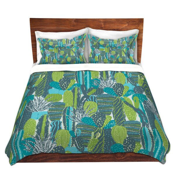 Land Of Cacti Duvet Cover Set