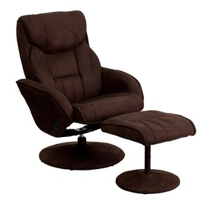 Jeannetta Manual Swivel Glider Recliner With Ottoman by Latitude Run