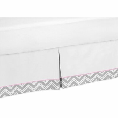 Zig Zag Toddler Bed Skirt by Sweet Jojo Designs