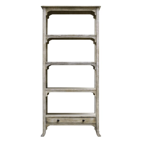 Astra Aged Etagere Bookcase by August Grove