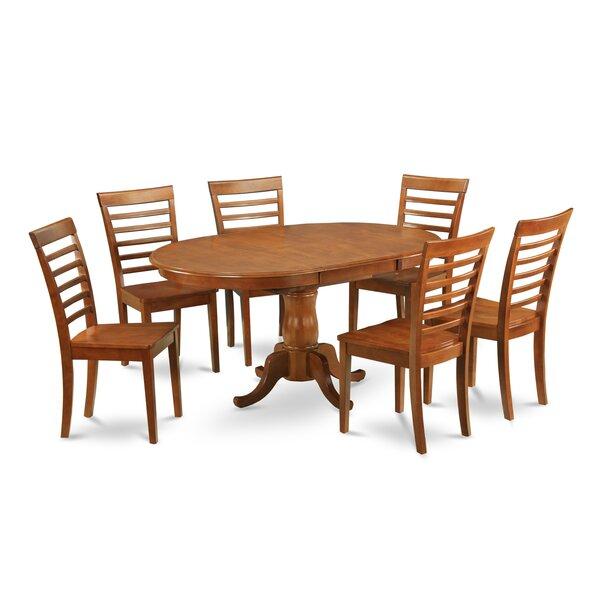 Lawanda 7 Piece Dining Set by Alcott Hill Alcott Hill