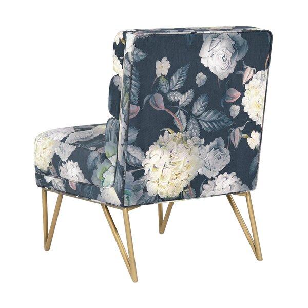 Rotan Slipper Chair by Ivy Bronx Ivy Bronx