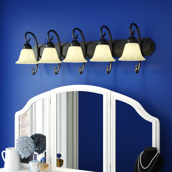 Austin 5-Light Vanity Light by Alcott Hill