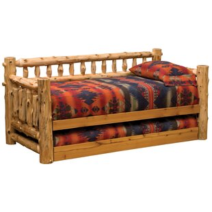 Traditional Cedar Log Daybed Fireside Lodge