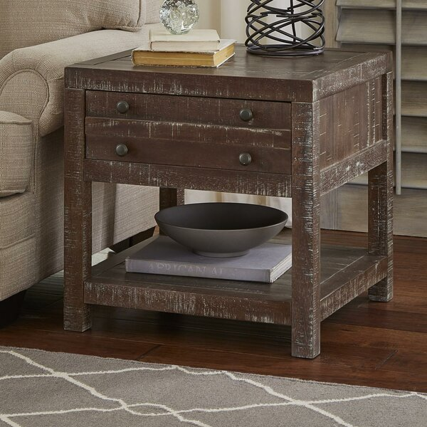 Haslemere End Table with Storage by Gracie Oaks