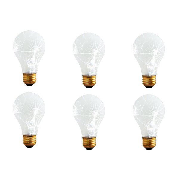 60W E26 Dimmable Incandescent Light Bulb Frosted Tough Coat (Set of 12) by Bulbrite Industries