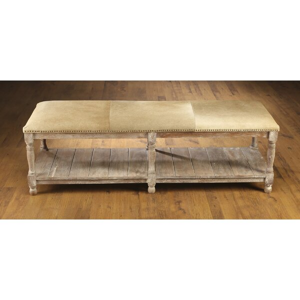 Rakestraw Wood Storage Bench by Loon Peak