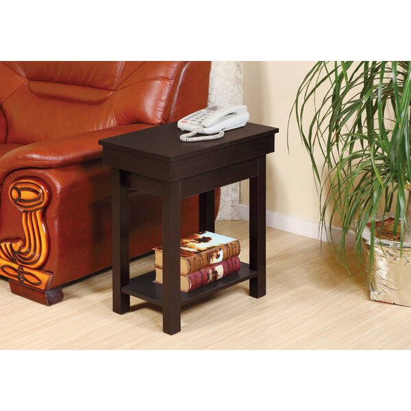Wolfsberg End Table With Storage By Winston Porter
