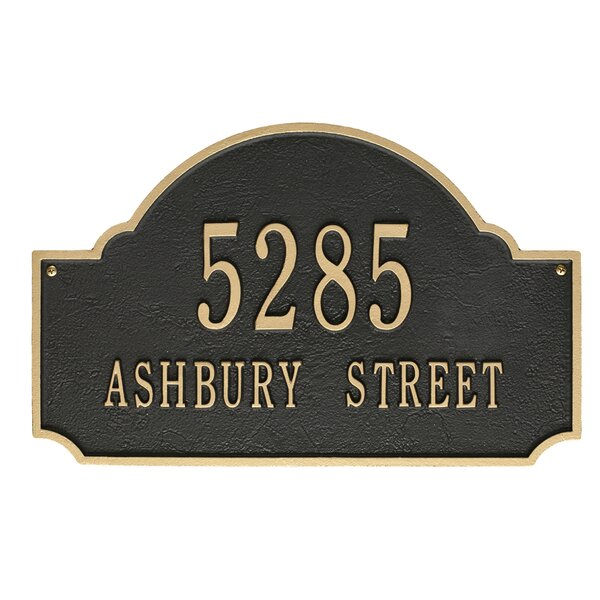 8f8e14aaad21 Address Plaques & Signs You'll Love | Wayfair