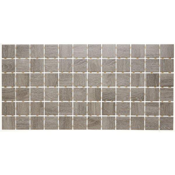 2 x 2 Ceramic Mosaic Tile in Balsam Fir by Itona Tile