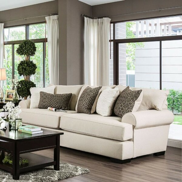 Kristina Transitional Style Sofa by Bloomsbury Market