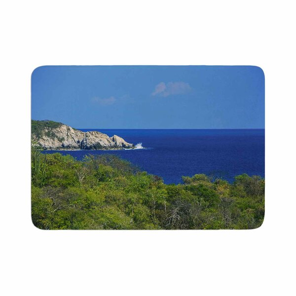 Nick Nareshni Forest to the Ocean Photography Memory Foam Bath Rug by East Urban Home