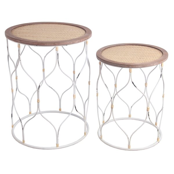 Thurlos Frame Nesting Table Set By Gracie Oaks