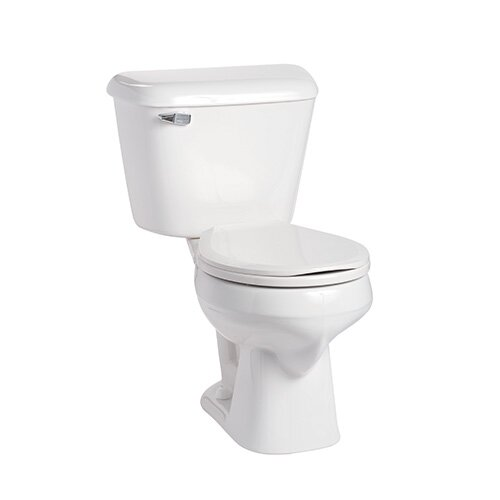 Alto 1.6 GPF Round Two-Piece Toilet by Mansfield Plumbing Products