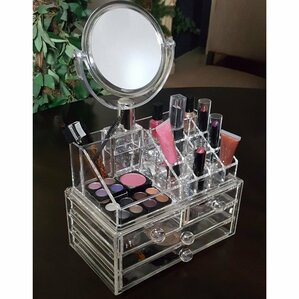 4 Drawer Cosmetic Organizer by Ikee Design