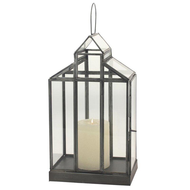Donna Glass Terrarium Lantern