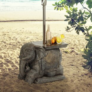 Read Reviews Elephant Umbrella Base Bistro Table By Bombay Outdoors