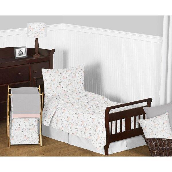 Unicorn 5 Piece Toddler Bedding Set by Sweet Jojo Designs
