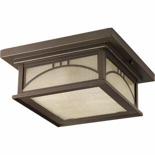 Affordable Price Shmuel 2 Light Outdoor Flush Mount By Winston Porter