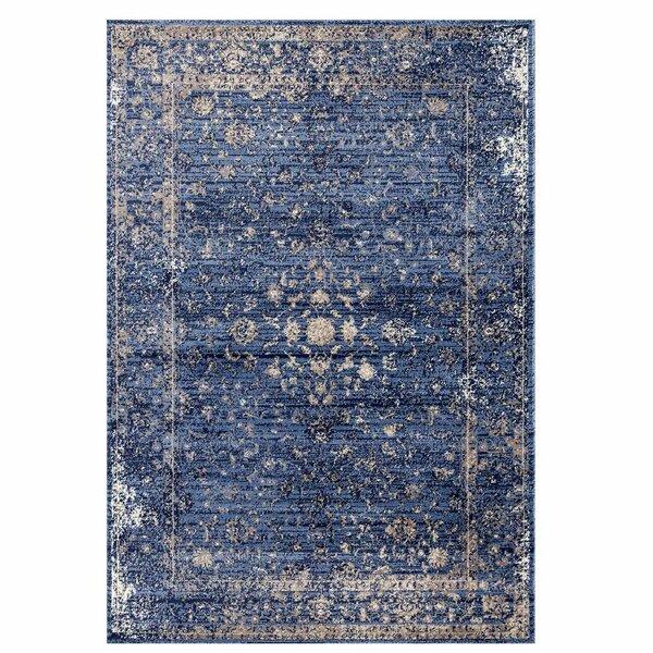 Josepha Vintage Blue/Beige Area Rug by Ophelia & Co.