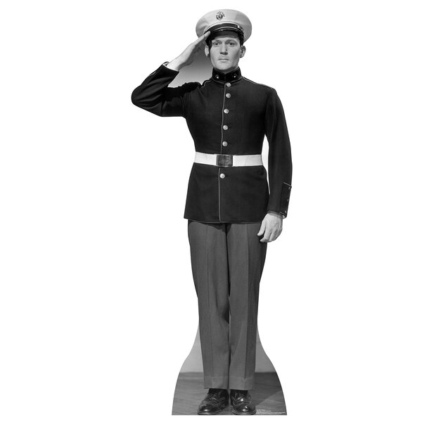 WW II U.S. Marine Cardboard Cutout Stand-Up by Advanced Graphics
