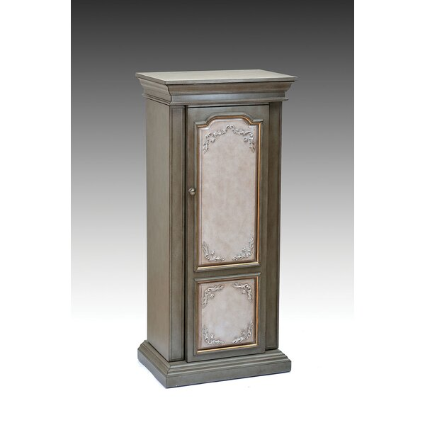 Riker Free standing Jewelry Armoire with Mirror by A&J Homes Studio