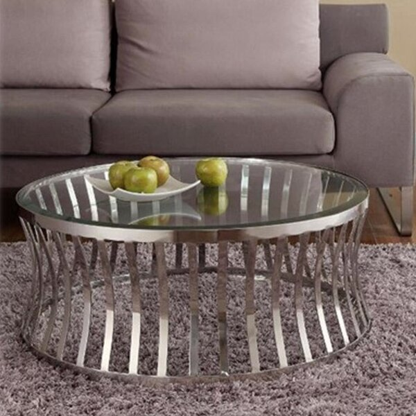 Capri Coffee Table by Diamond Sofa