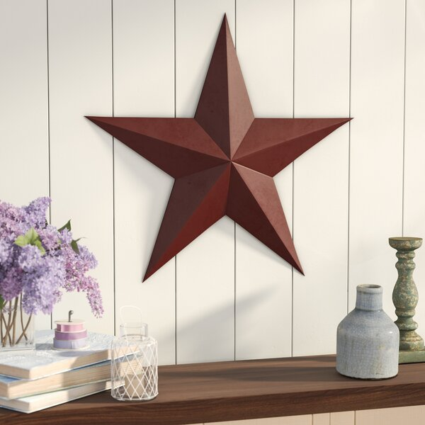 Raised Star Wall Décor by August Grove