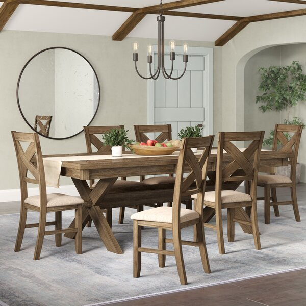 Design Poe 7 Piece Extendable Dining Set By Gracie Oaks Comparison