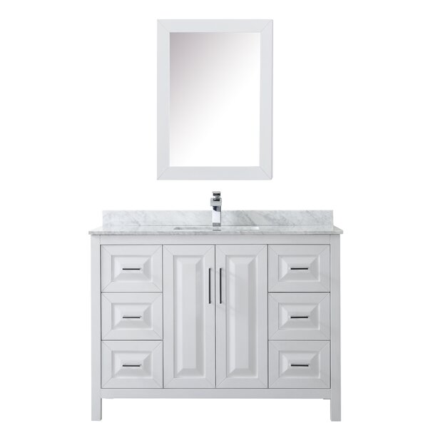Daria 48 Single Bathroom Vanity Set with Medicine Cabinet by Wyndham Collection