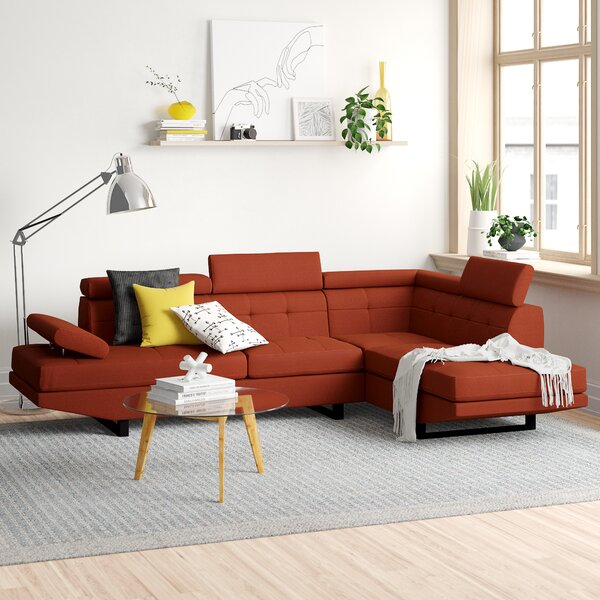 Pettit Right Hand Facing Sectional by Zipcode Design