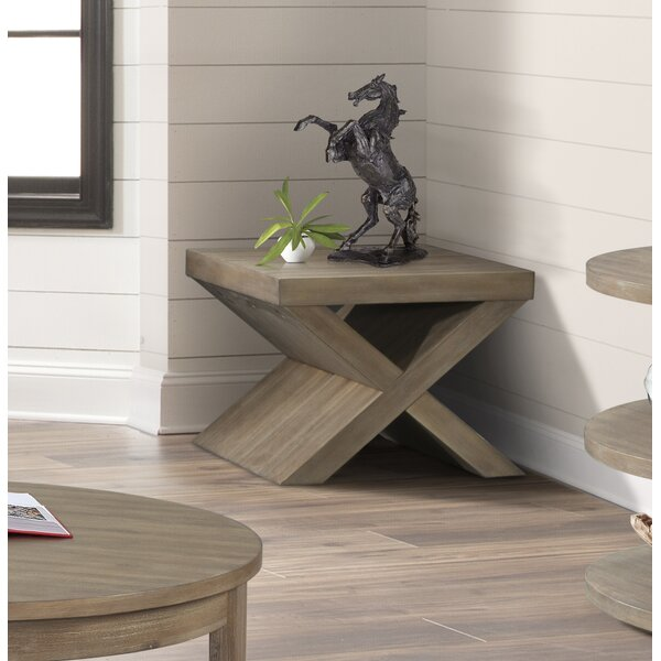 Scoggins Bunching End Table by Gracie Oaks